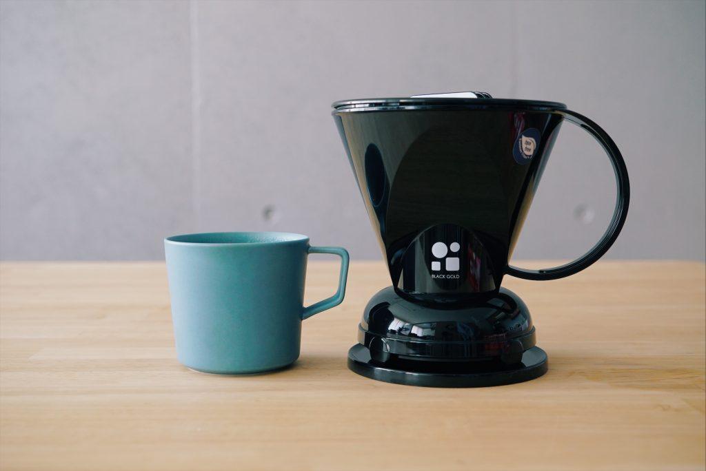 cleverドリッパーとマグカップ