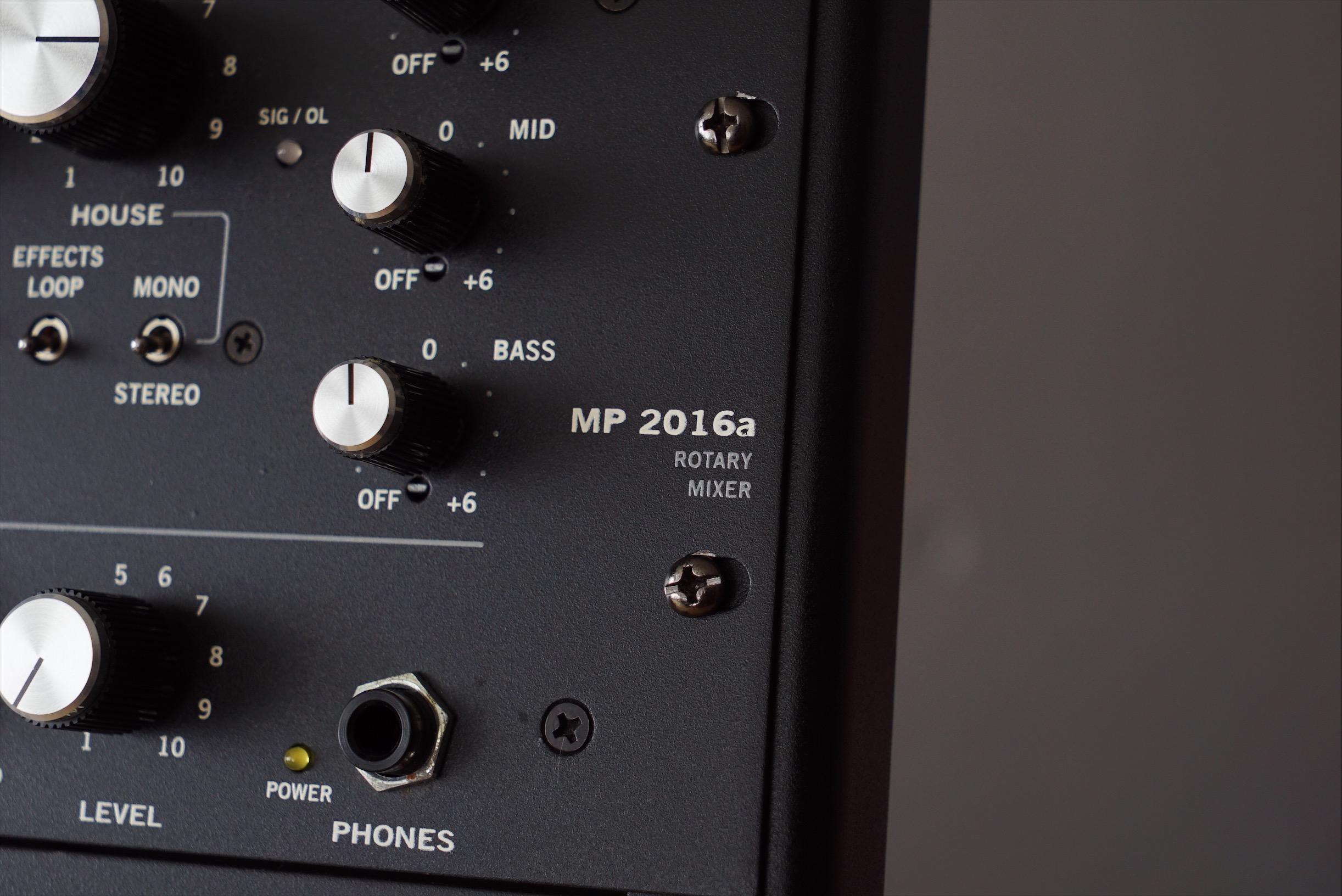 RANE MP2016a